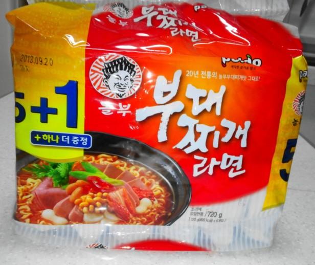 Budaejjigae Noodles multipack