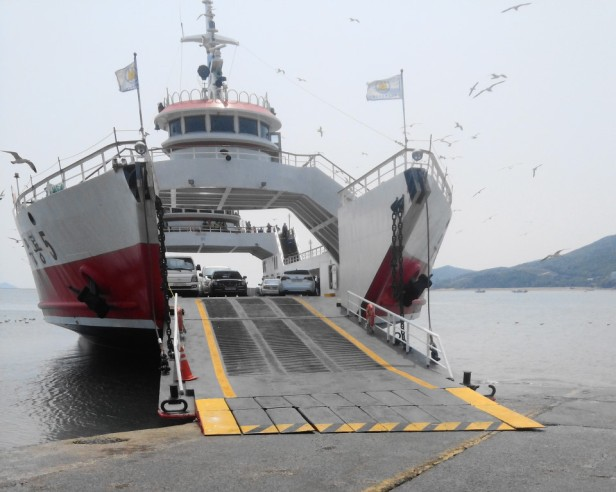 Ferry to Muuido Island, Incheon South Korea