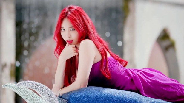 Girl's Day Ring My Bell - Red Hair