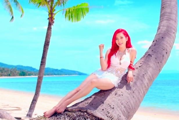 Girls Generation Party 2015 palm tree