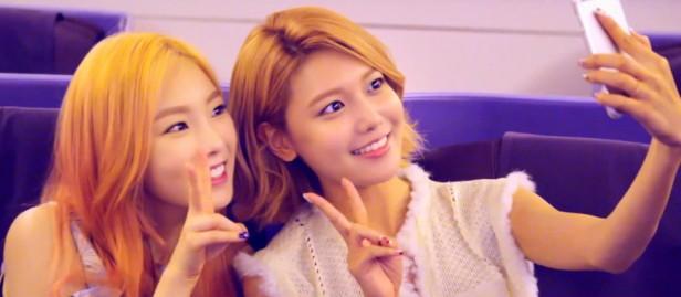 Girls Generation Party 2015 Plane Selfie