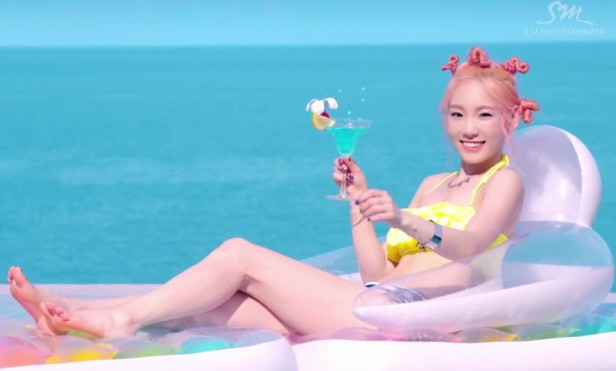 Girls Generation Party 2015 pool