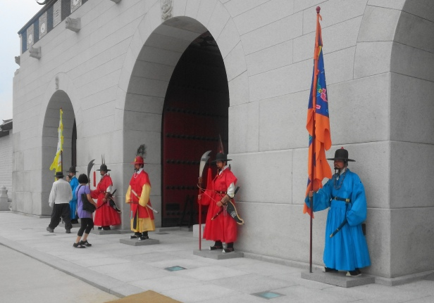 Gyeongbokgung Palace Guards Seoul