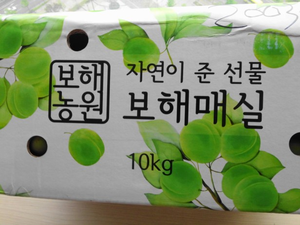 Korean Plums Box  Gmarket 2015