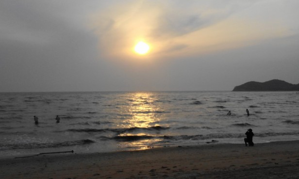 Muuido Island Incheon Beach Sunset
