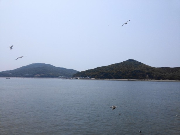 Muuido Island Incheon from the ferry