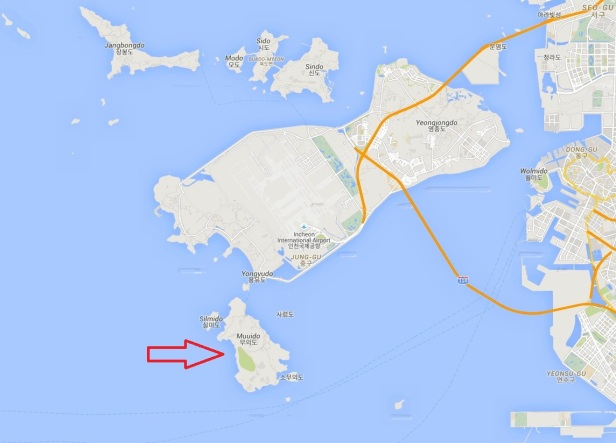 Muuido Island Incheon Map