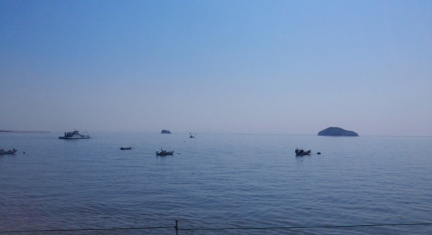 Muuido Island Incheon Yellow Sea Islands Boats