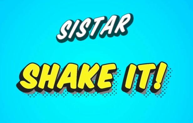 Sistar Shake It - Banner