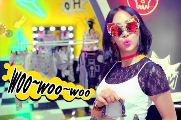 Sistar Shake It - Woo woo woo