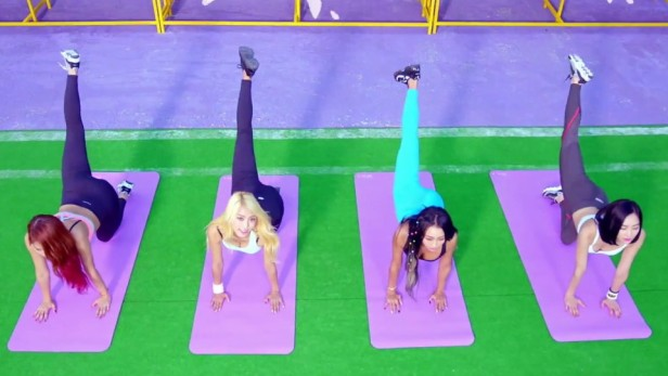 Sistar Shake It - Yoga