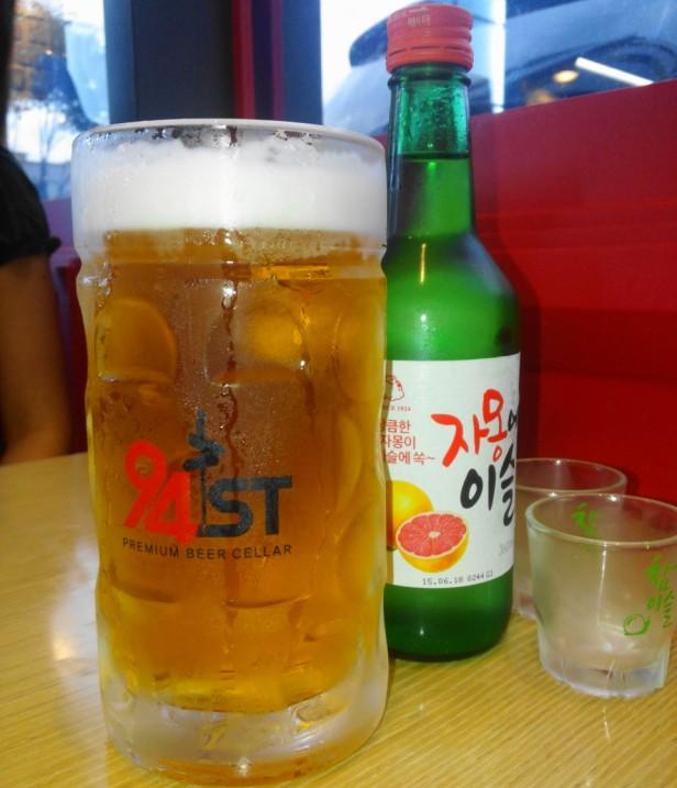94Street Chicken Beer South Korea draft max