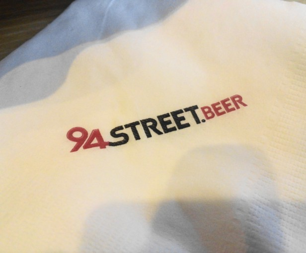 94Street Chicken Beer South Korea napkin