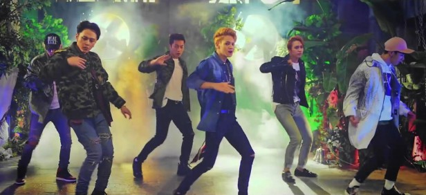 Beast YeY dance greenhouse