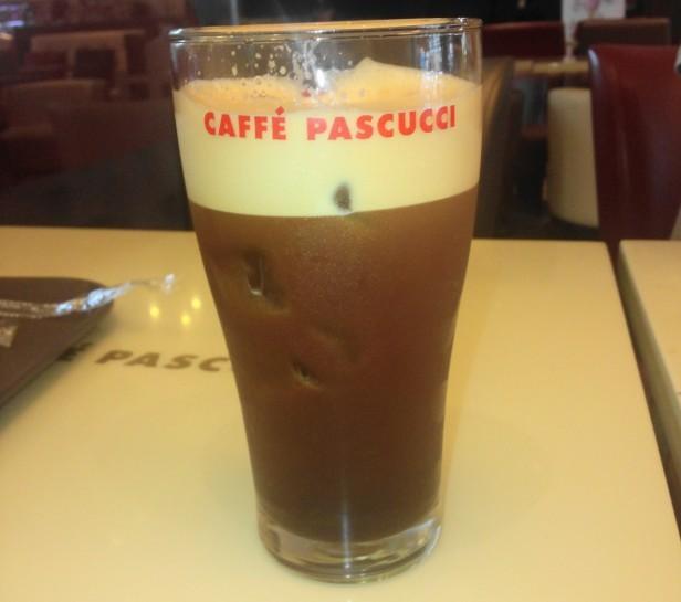 Caffe Pascucci Shakerato Coffee 2015