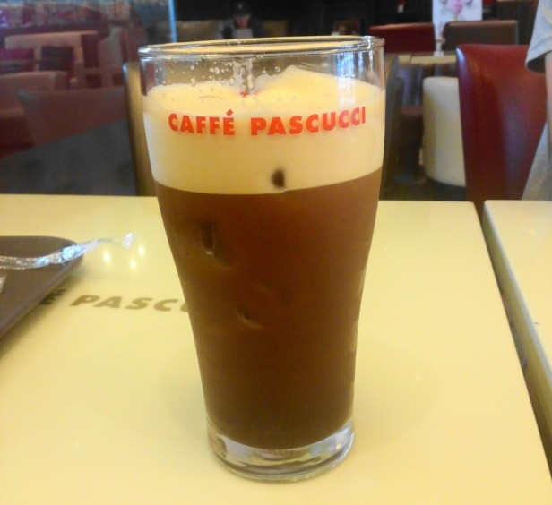 Caffe Pascucci Shakerato Pint Glass Draft Korea