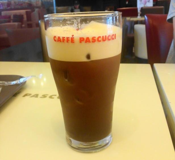 Caffe Pascucci Shakerato Pint Glass Draft Korea