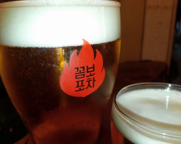 Combo Pocha Restaurant draft beer