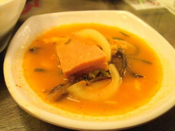 Combo Pocha Restaurant soup
