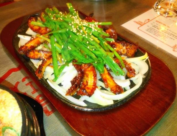 Combo Pocha Restaurant spicy eel