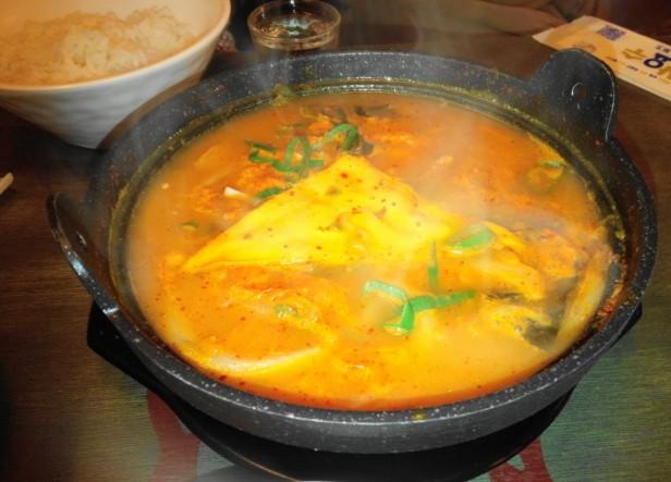 Combo Pocha Restaurant stew