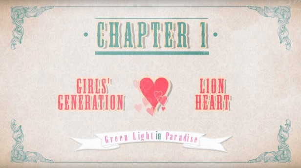 Girls Generation Lion Heart Banner 1