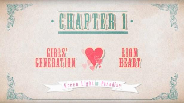 Girls Generation Lion Heart Banner 1