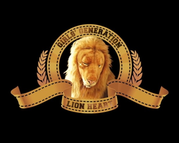 Girls Generation Lion Heart Banner