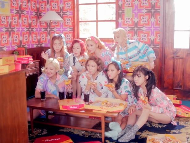 Girls Generation Lion Heart Mr Pizza