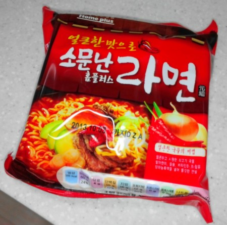 Homeplus Somunnan Instant Noodles front