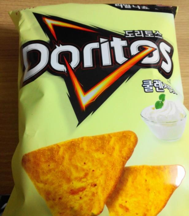 Korean Cool Ranch Doritos bag front
