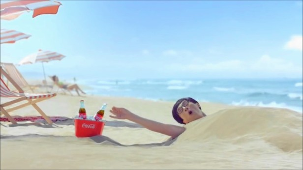 Korean Television Advertisments Yu Jae-Sok Coca Cola 1