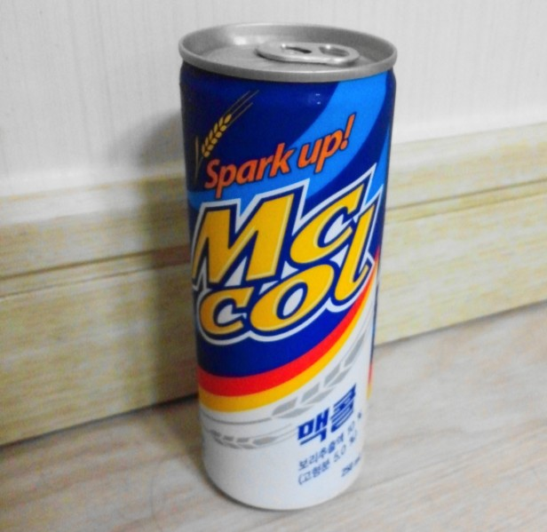 McCol Korean Wheat Soda Can