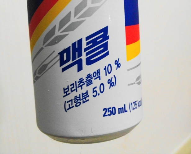 McCol Korean Wheat Soda Info