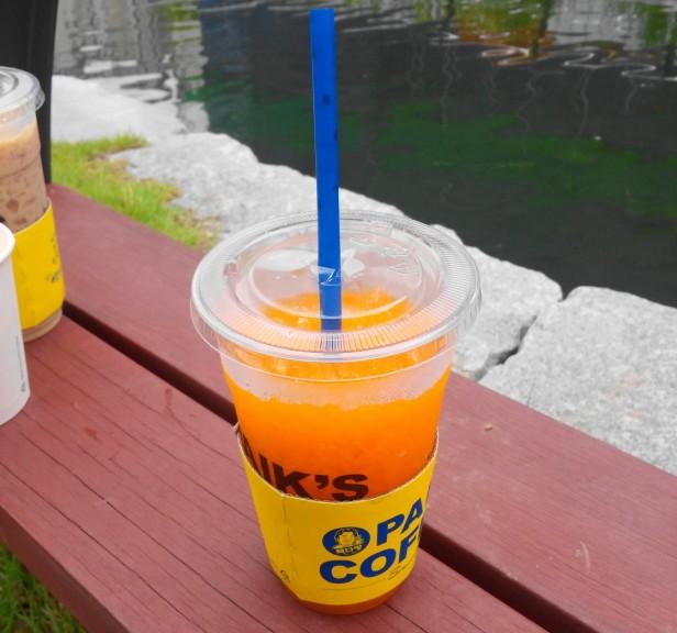 Paik's Coffee Korea Juice Soda