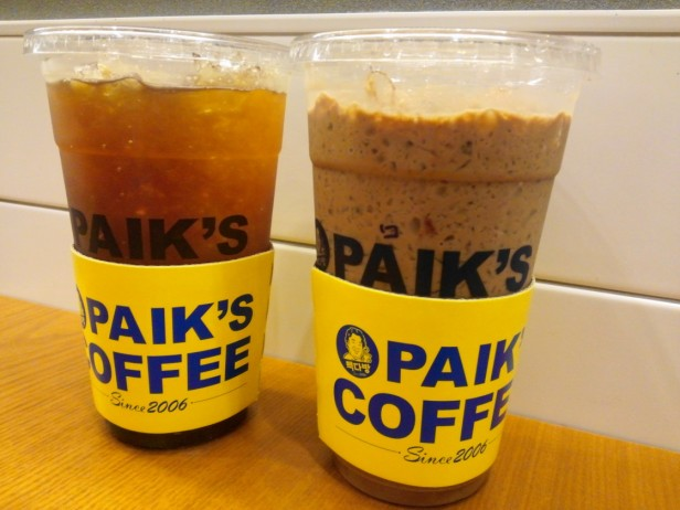 Paik's Coffee Korea Large Size Cheap