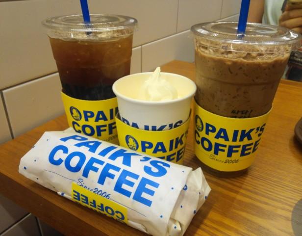 Paik's Coffee Korea Lunch Set