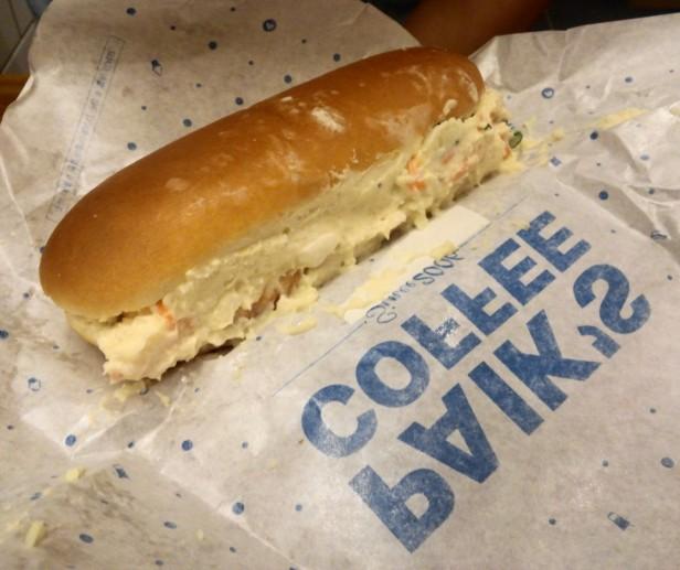 Paik's Coffee Korea Sandwich
