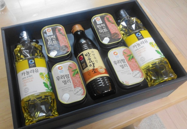Chuseok Gift Set 2015 - Spam and Oil
