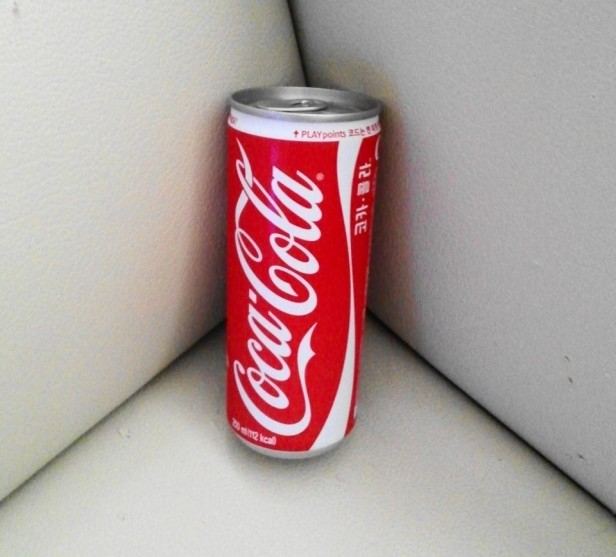 Coca Cola Korea can