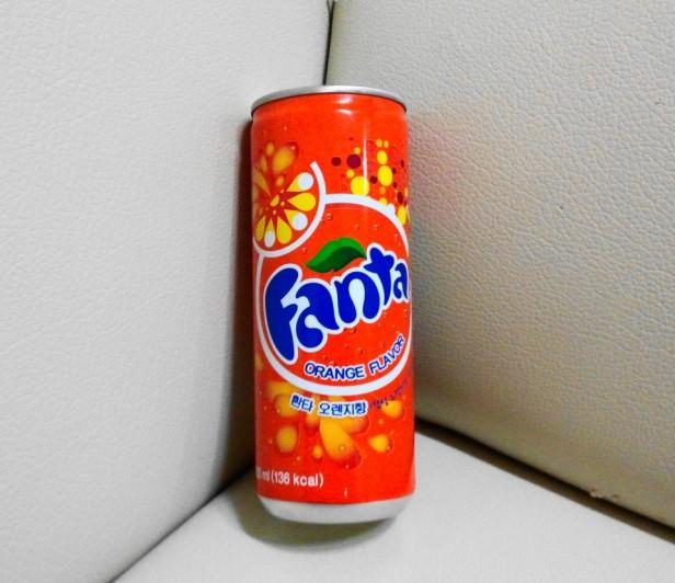 Coca Cola Korea fanta can