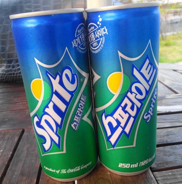 Coca Cola Korea Sprite Soda Can