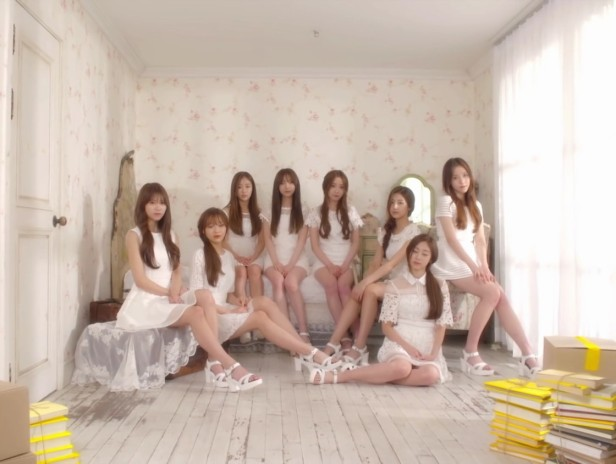 Lovelyz Shooting Star - Group