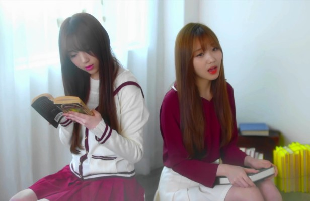 Lovelyz Shooting Star - Studying