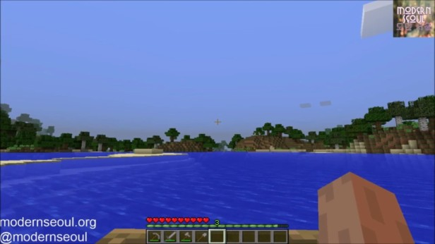 Minecraft Moderrn Seoul vs. The Wild Day 4 Boating