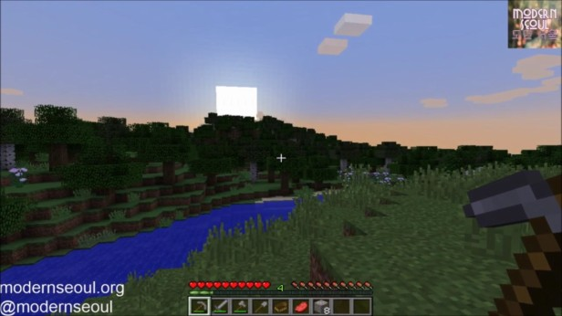 Minecraft Moderrn Seoul vs. The Wild Day 4 Sunset