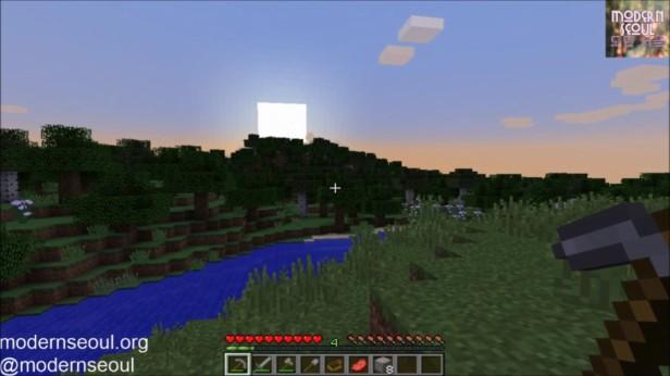 Minecraft Moderrn Seoul vs. The Wild Day 4 Sunset
