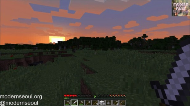 Minecraft Moderrn Seoul vs. The Wild Night 4 Sunrise