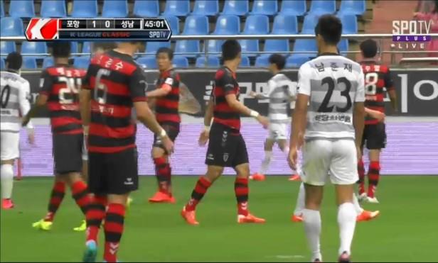 Pohang vs. Seongnam FC Sept 2015