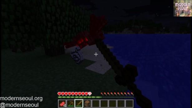Spider Kill Minecraft vs. The Wild Day 3